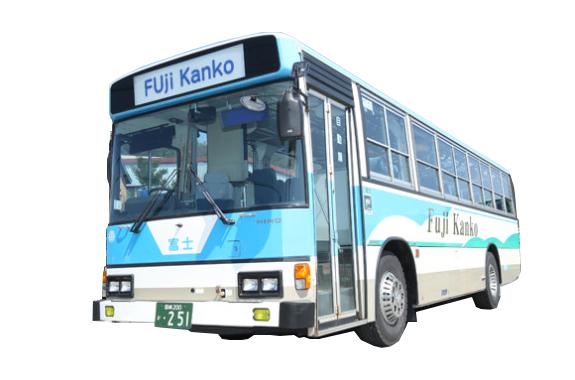 大型送迎バス(49席+立ち乗り21人)