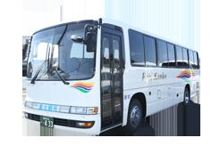 中型送迎バス(37席+補助席8席)